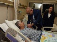 Başkan Ergün, İbrahim Uğurlu'yu ziyaret etti