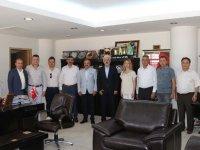 ATSO yeni yönetiminden Belediye Başkanı Salih Hızlı'ya ziyaret