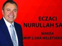 27. dönem Manisa MHP 2. sıra Milletvekili adayı Eczacı Nurullah Savaş