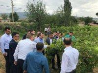 TBMM KİT Komisyon Başkanı Uğur Aydemir, afet mağdurları ile buluştu
