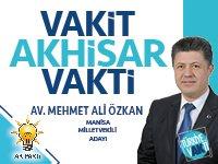 AK Parti Manisa Milletvekili Adayı Av. Mehmet Ali Özkan