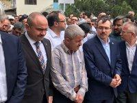 AK Parti İlçe Başkanı İbrahim Sayın'ın acılı günü