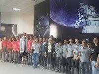 Yavuz Selim Ortaokulu öğrencileri Planetaryum ve Bilim Evindeydi