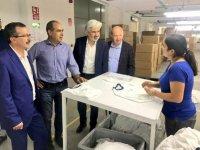 Milletvekili Uğur Aydemir, Gıda ve Tekstilciler sitesini ziyaret etti