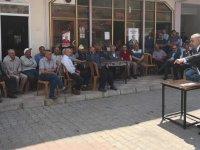 Bakırlıoğlu'ndan Dağdere, Hanpaşa ve Kömürcü ziyaretleri