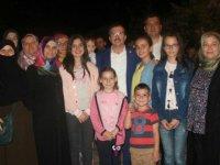 Milletvekili Uğur Aydemir, iftar ve sahurda vatandaşlarda buluştu