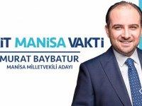AK Parti 27.dönem Manisa Milletvekili Adayı Murat Baybatur