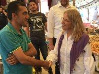 CHP Manisa Milletvekili Adayı Hayriye Hacet, değişim rüzgarı başladı büyüyerek devam edecek