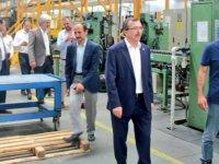 AK Parti Manisa Milletvekili Uğur Aydemir, Akhisar OSB'yi ziyaret etti