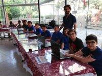 Akhisar'da Robotik kodlama festivali yapıldı