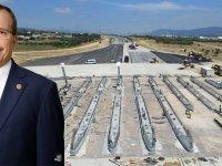 Akhisar'dan da geçen İzmir-İstanbul otoyolunun yüzde 90'ı tamamlandı
