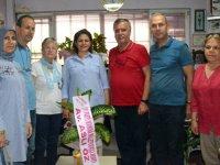 İYİ Parti Milletvekili adayı Aslı Öz, Akhisar Haber'i ziyaret etti