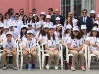 Ali Şefik Ortaokulun ilk bilim fuarı açıldı