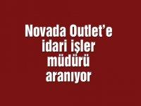Novada Outlet'e idari işler müdürü aranıyor