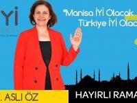 27.Dönem İYi Parti Manisa Milletvekili Adayı Avukat Aslı Öz
