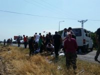Akhisar'da kaza 2'si ağır 7 yaralı