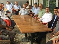 AK Parti Manisa Milletvekili Uğur Aydemir, Şehzadeler ilçesinde destek istedi