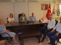CHP Teşkilatı ve Milletvekili adayları, ATSO'yu ziyaret etti