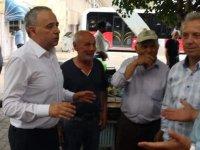 CHP Milletvekili Adayı Bakırlıoğlu'nun durağı köylü garajı oldu