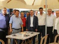 AK Parti Manisa Milletvekili Uğur Aydemir, sanayi esnafı ile buluştu