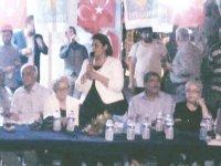 İyi Parti'ye Hacı İshak Mahallesinde coşkulu karşılama