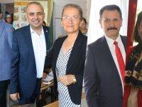 Akhisar'da 5 Milletvekili Adayı oyunu kullandı