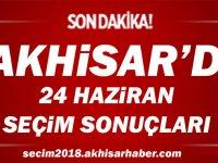 24 Haziran 2018 Cumhurbaşkanlığı ve 27. Dönem Milletvekilliği Genel Seçimleri Akhisar ilçesi sonuçları
