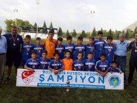 Akhisar Yıldırımspor, U12 yaş grubu Manisa ikincisi oldu
