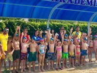 Gölmarmara da Ege Yüzme Akademide