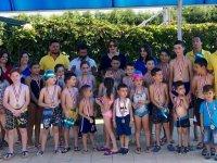 Gölmarmara yüzme kursları Ege Yüzme Akademide tamamlandı