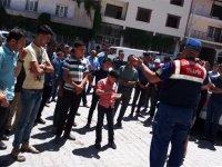 Akhisar Jandarma Trafikten Dağdere Mahallesinde trafik semineri