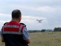 Jandarmadan Dronelu kenevir operasyonu