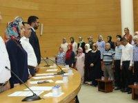 AK Parti İlçe Danışma Meclisi toplantısında seçim değerlendirildi