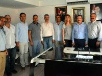 ATSO Başkanı Dr. Mehmet Ulusoy, Aydemir'i ziyaret etti