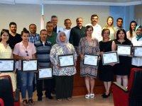 KOSGEB girişimcilik eğitimi sertifikaları dağıtıldı