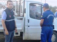 İlçe Tarım ve Jandarma ekipleri yol kontrollerini sıklaştırdı