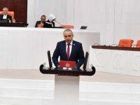 Milletvekili Bakırlıoğlu, Bakır Göletindeki sulama sorununu meclis gündemine taşıdı