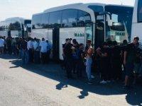 Akigolar Final maçı için 25 Otobüs Konya'ya gitti