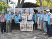 Akhisar'da vekalet ile kurban bağışı standı açıldı
