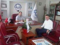 Özel Doğuş Hastanesi'nden Akhisar müftüsüne hoş geldin ziyareti
