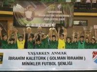 Golman İbrahim 9 yaş futbol turnuvası şampiyonu Akhisarspor oldu
