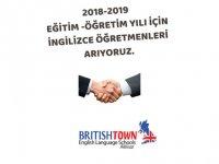 İngilizce öğretmenleri aranıyor