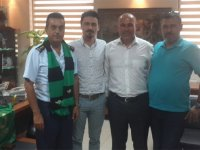 Akigolar'dan Albay Mehmet Şahin'e teşekkür