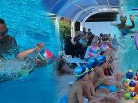 Ege Yüzme Akademi'de Ağustos ayı üçüncü ve son tur başarıyla tamamlandı