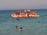 Gezginevi bayram yorgunluğunu Kayra Beach'te bıraktı