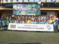Hüseyin Sultan Miniklere Futbol turnuvası sona erdi