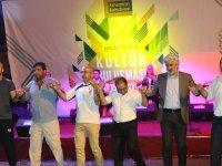 Akhisar Kültür Buluşması'nın ilk gecesinde Erzurumlular gecesi yaşandı