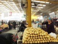 İlk kez Akhisar'da uygulanan pazar yeri fıskiyeli serinlik, Balıkesir'e örnek oldu