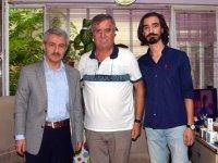 Kaymakam Peker, Akhisar Haber'i ziyaret etti