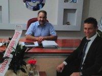 Özel Akhisar Hastanesi'nden, Akhisar müftüsüne hoş geldin ziyareti
